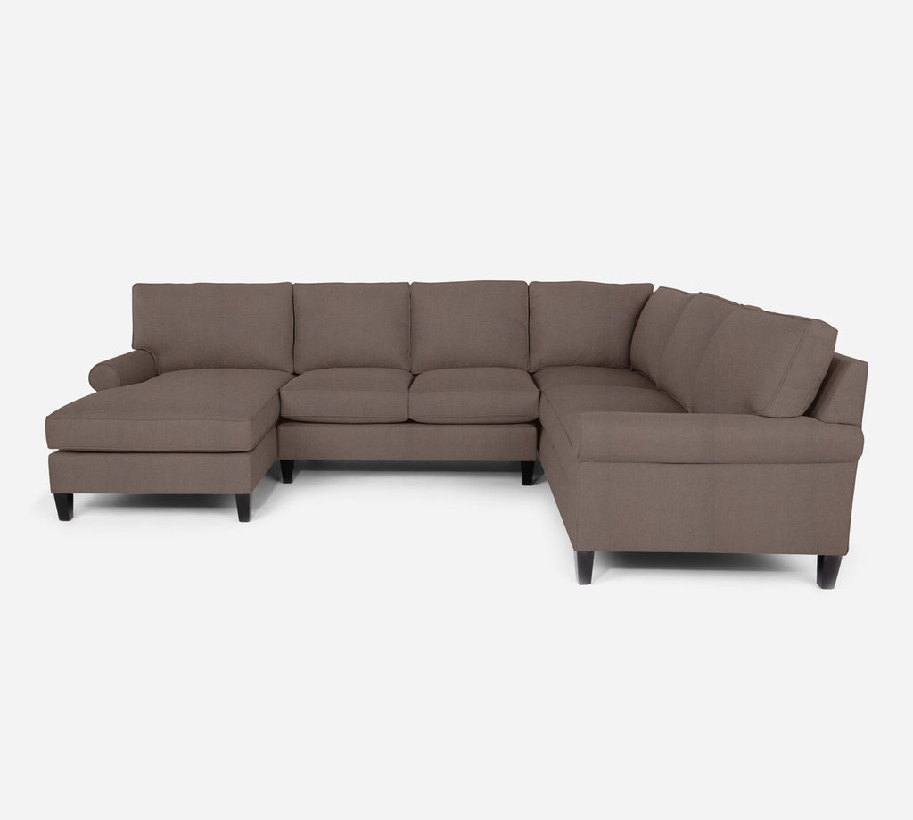 Soren LAF Chaise Corner Sectional - Heritage - Pebble