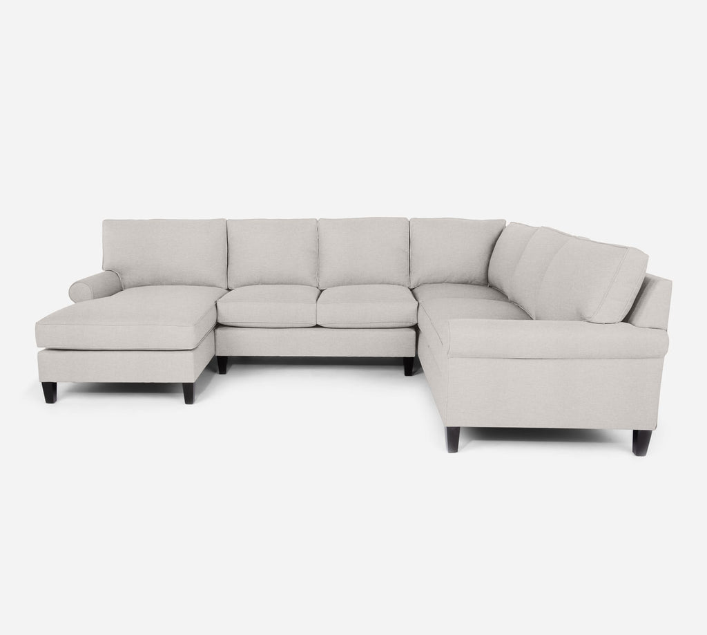 Soren LAF Chaise Corner Sectional - Key Largo - Oatmeal