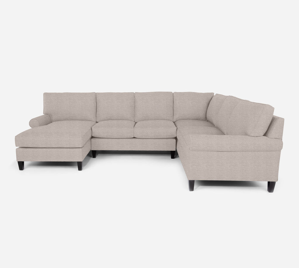 Soren LAF Chaise Corner Sectional - Stardust - Oatmeal