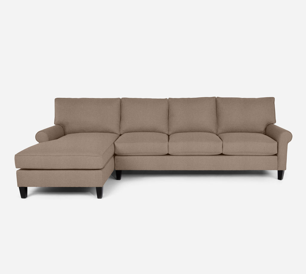 Soren LAF Chaise Sectional - Coastal - Cashew