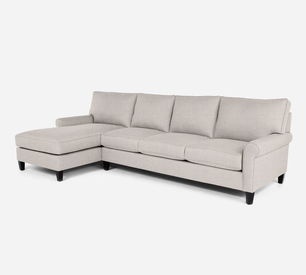 Soren LAF Chaise Sectional - Coastal - Sand