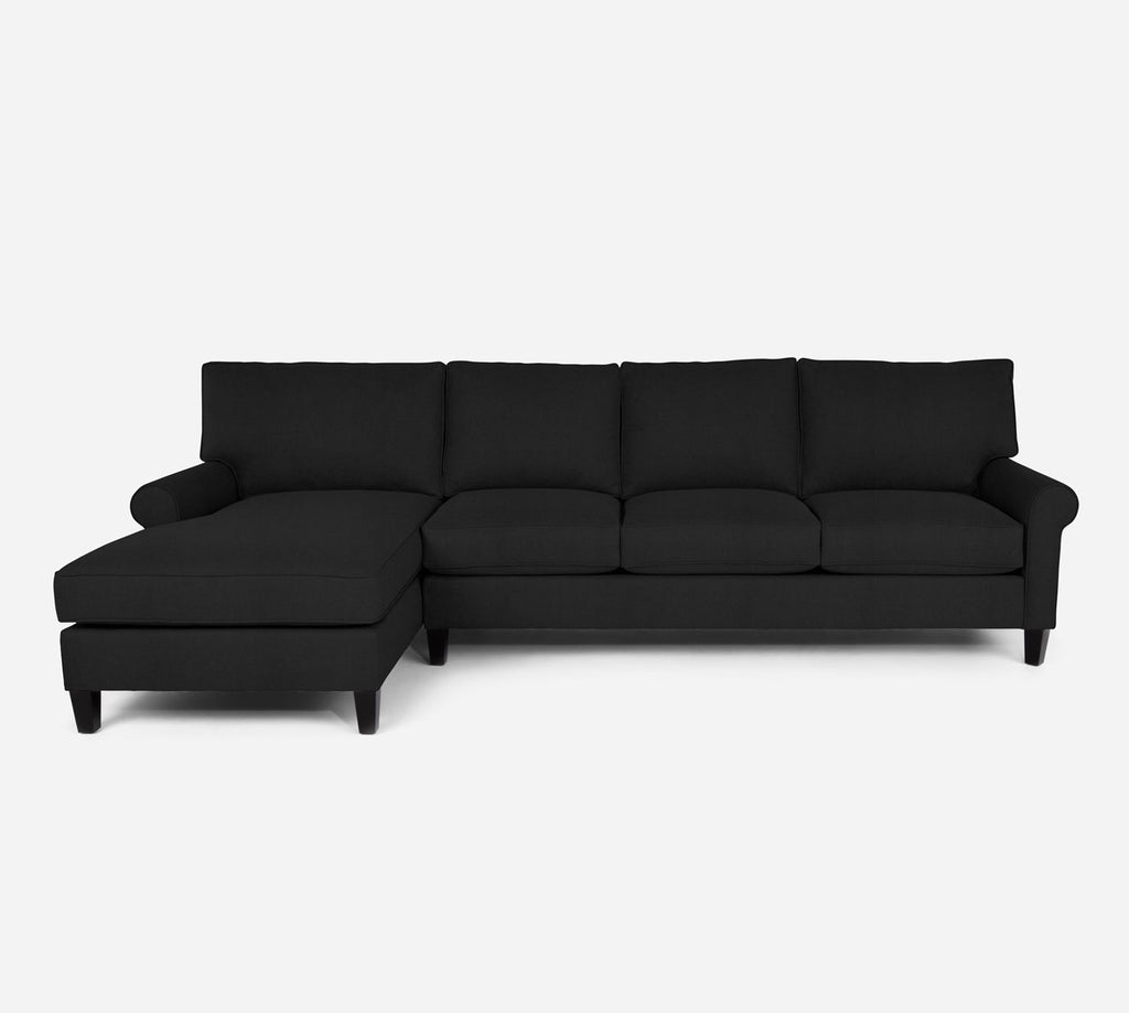 Soren LAF Chaise Sectional - Heritage - Charcal