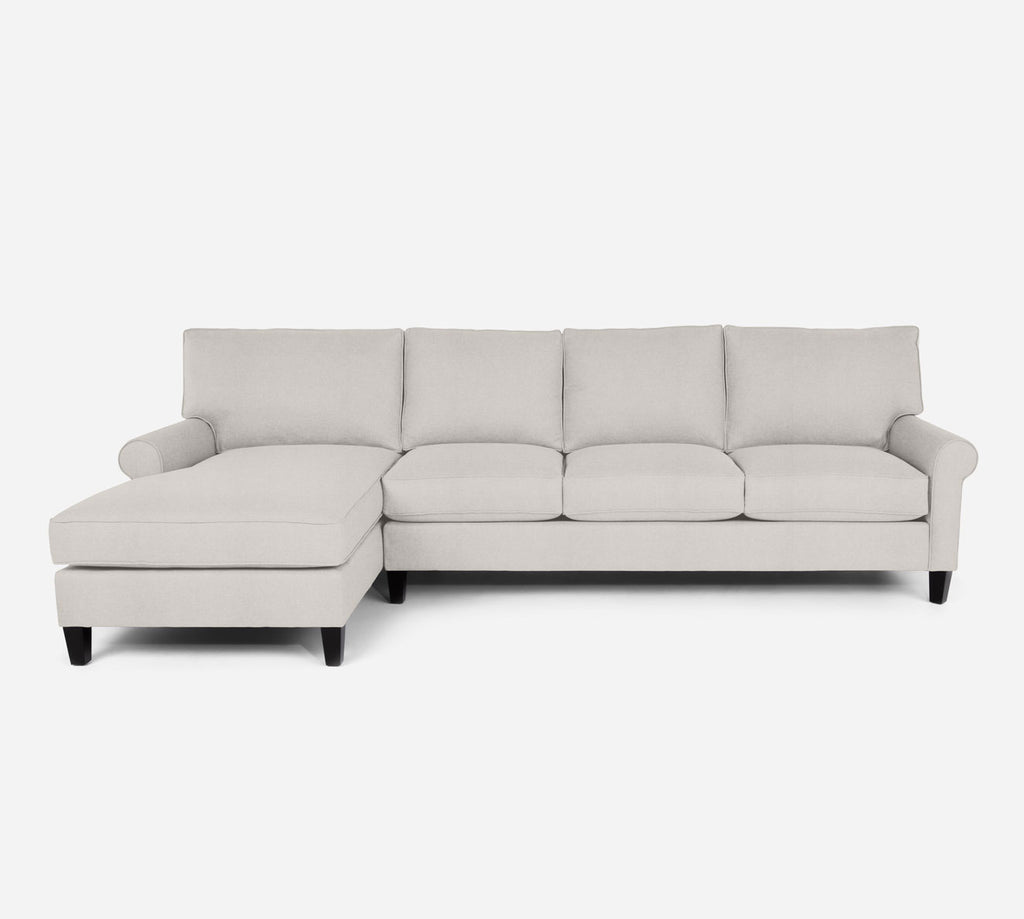 Soren LAF Chaise Sectional - Heritage - Ivory
