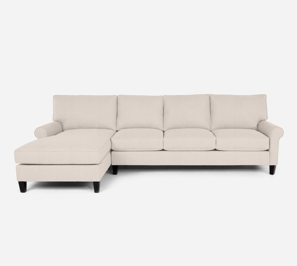 Soren LAF Chaise Sectional - Kenley - Canvas