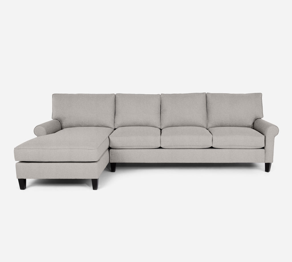 Soren LAF Chaise Sectional - Kenley - Moondust