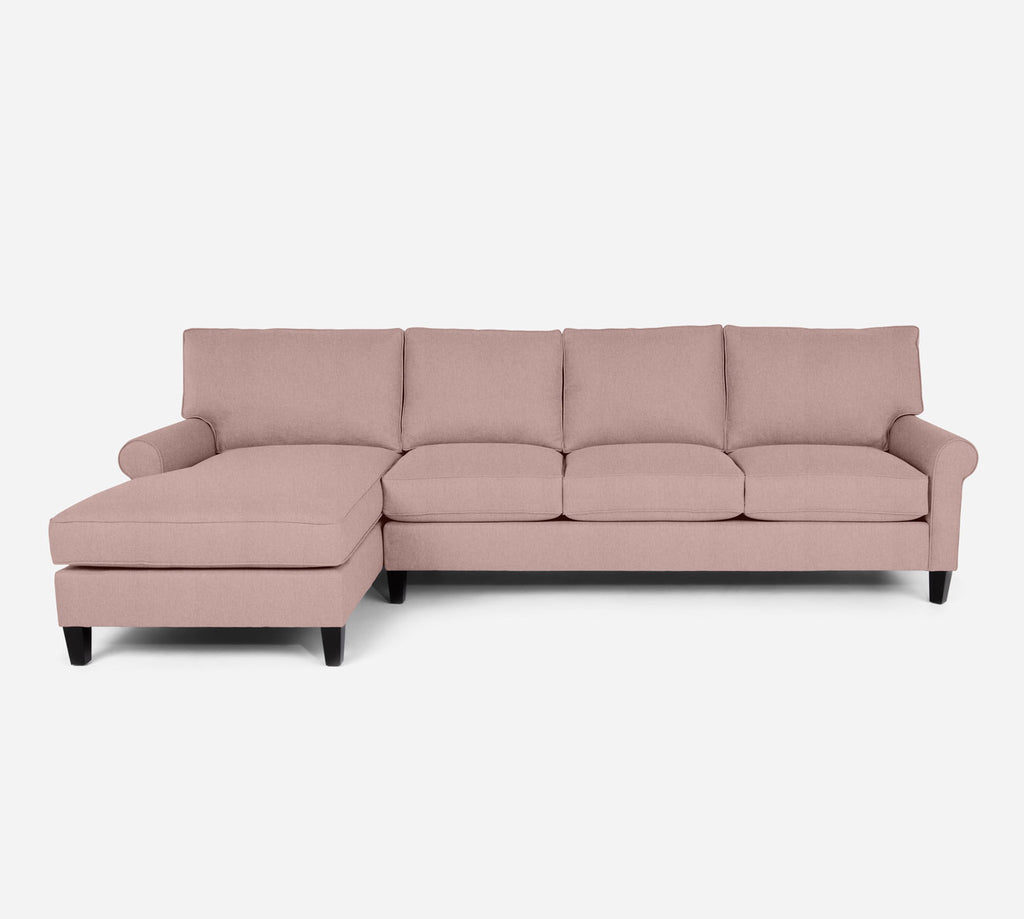 Soren LAF Chaise Sectional - Kenley - Quartz
