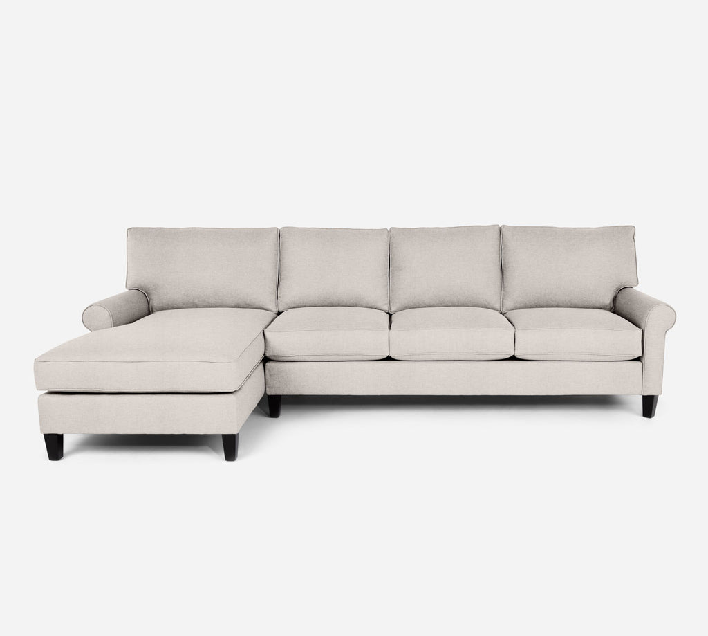 Soren LAF Chaise Sectional - Key Largo - Oatmeal