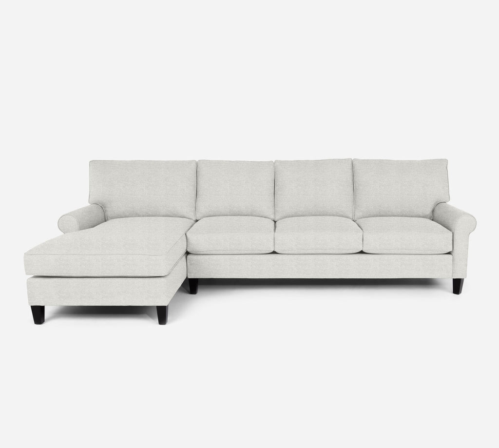 Soren LAF Chaise Sectional - Stardust - Ivory