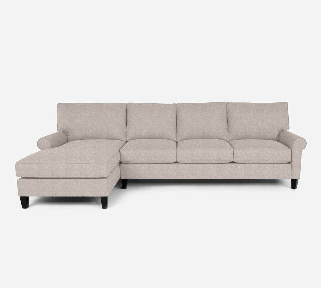 Soren LAF Chaise Sectional - Stardust - Oatmeal