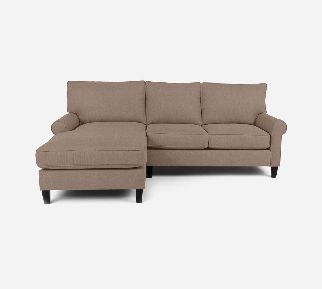 Soren Sectional Apartment Sofa w/ LAF Chaise - Coastal - Cashew