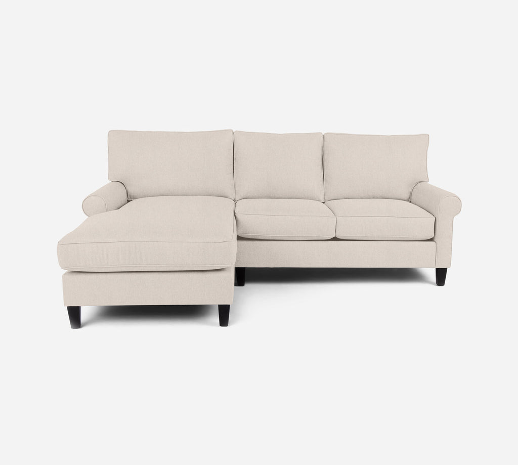Soren Sectional Apartment Sofa w/ LAF Chaise - Kenley - Canvas