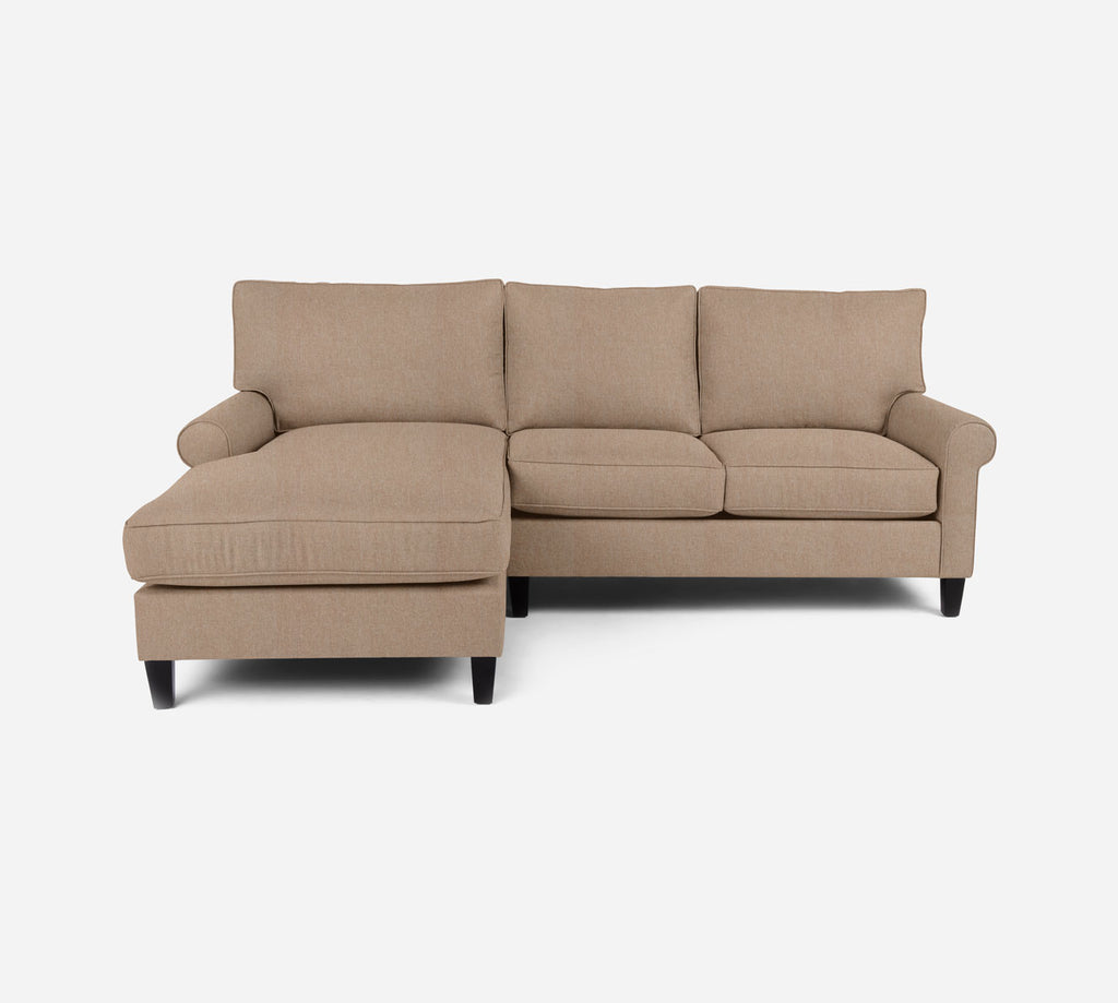 Soren Sectional Apartment Sofa w/ LAF Chaise - Kenley - Ecru