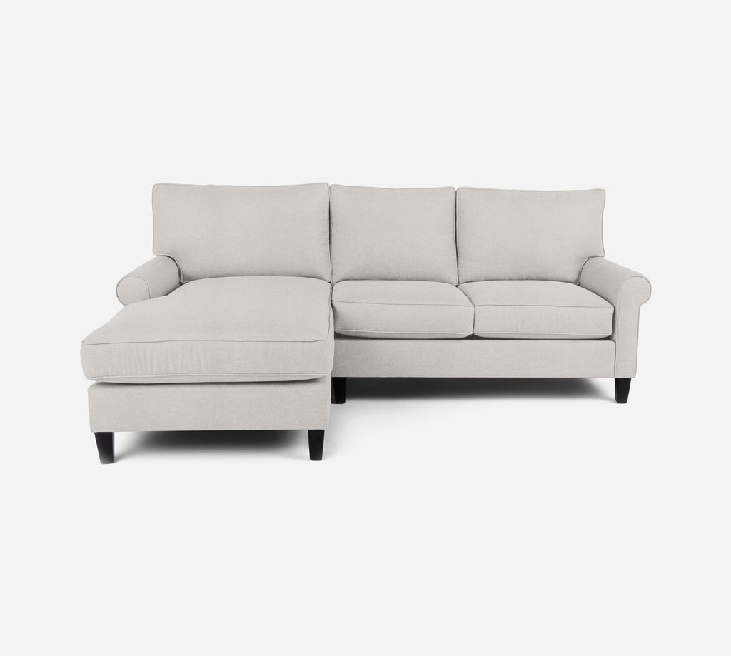 Soren Sectional Apartment Sofa w/ LAF Chaise - Key Largo - Oatmeal