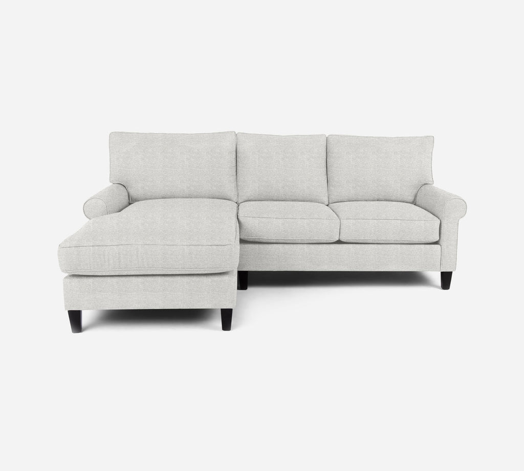 Soren Sectional Apartment Sofa w/ LAF Chaise - Stardust - Ivory