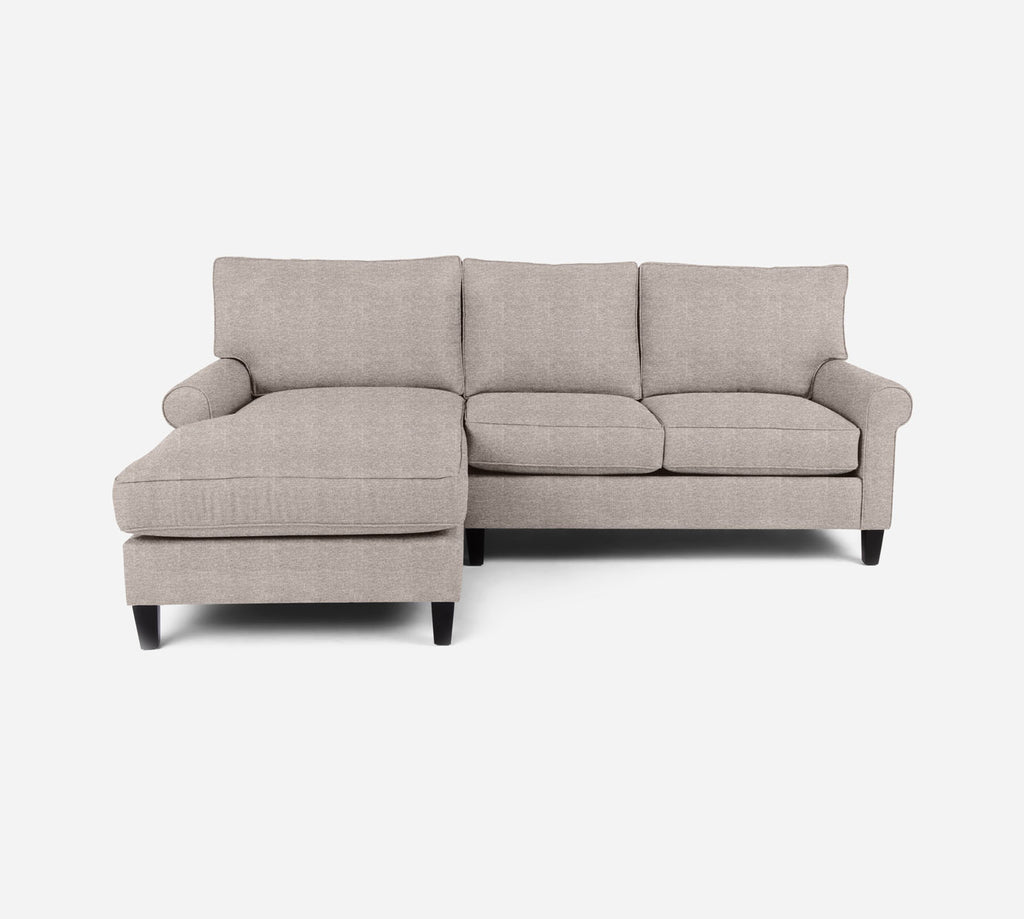 Soren Sectional Apartment Sofa w/ LAF Chaise - Stardust - Oatmeal