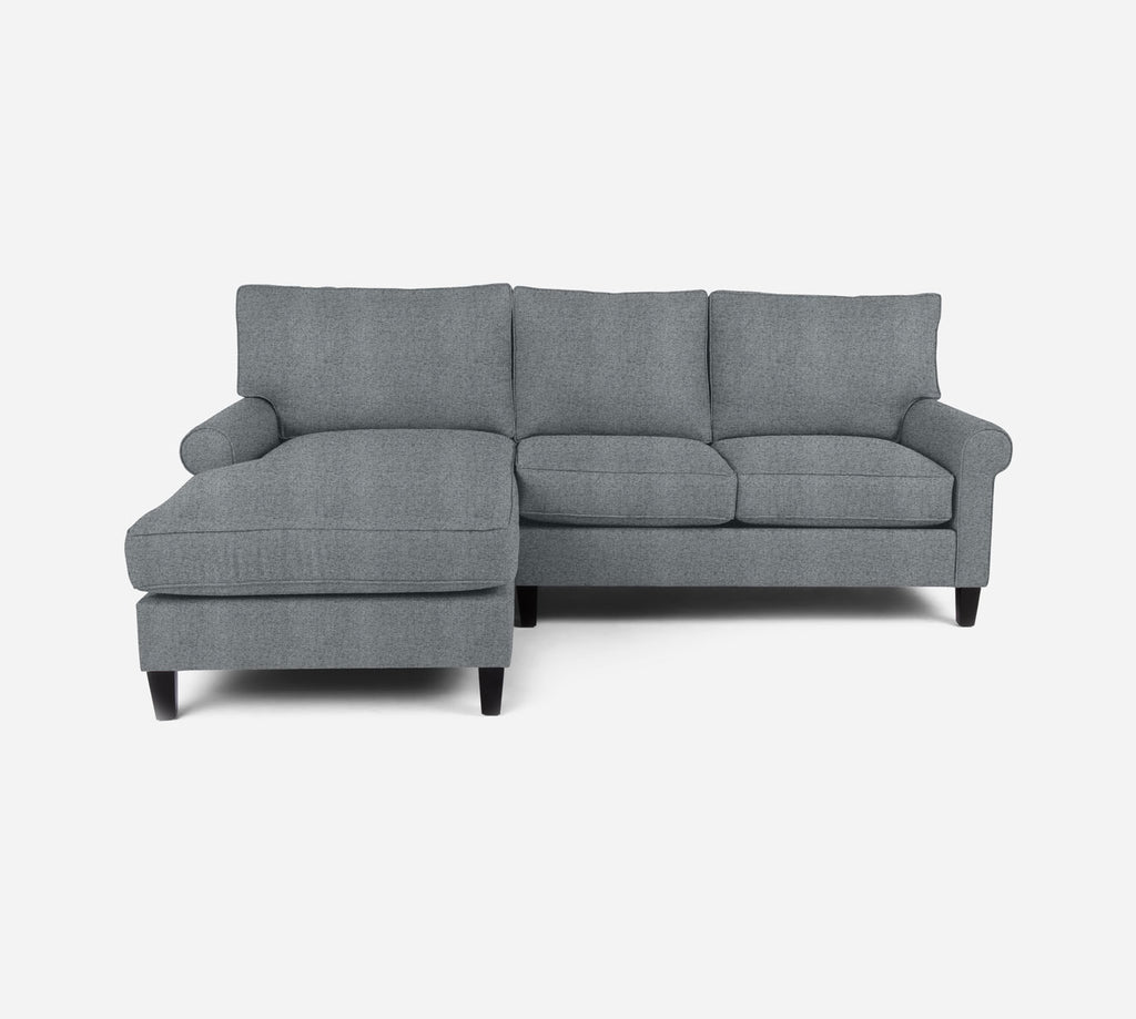 Soren Sectional Apartment Sofa w/ LAF Chaise - Theron - Haze