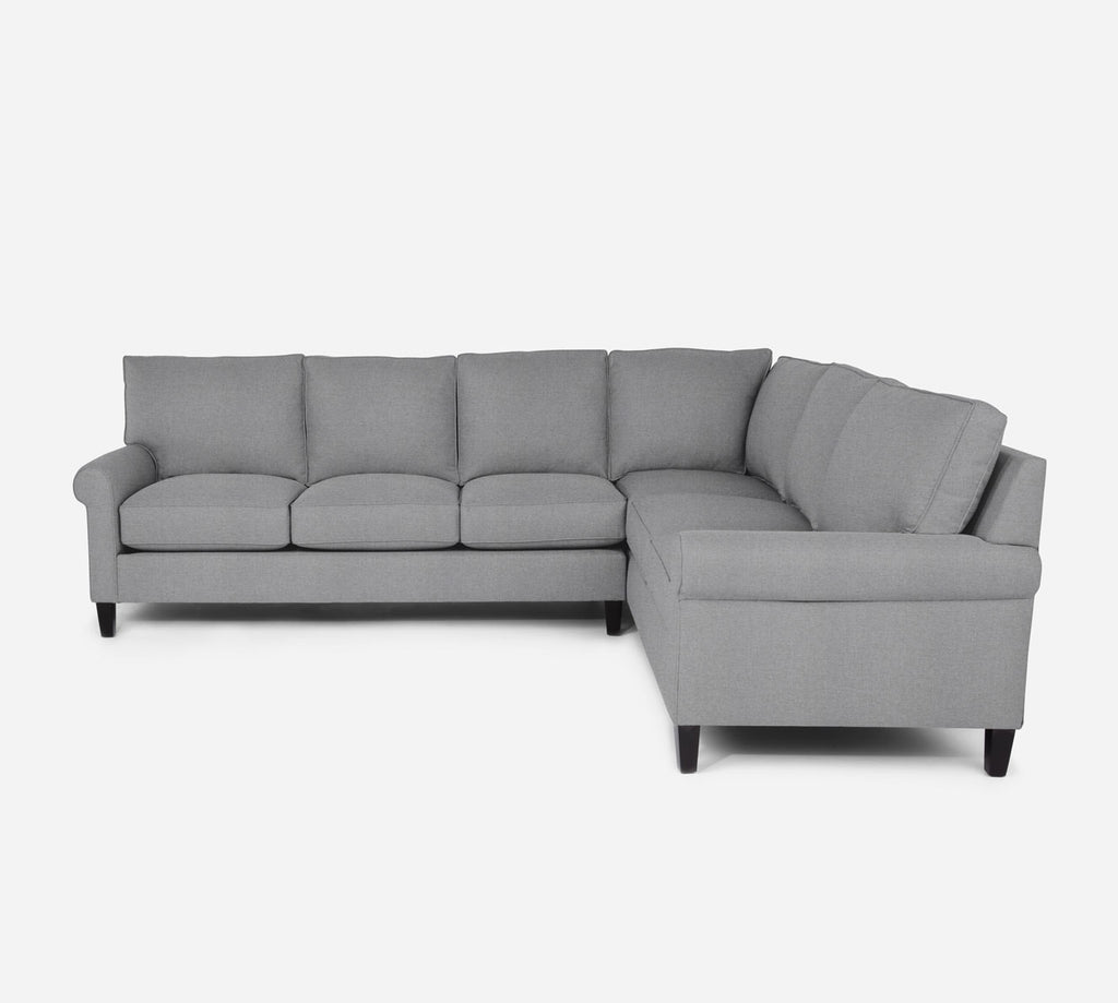 Soren LAF Large Corner Sectional - Coastal - Ash