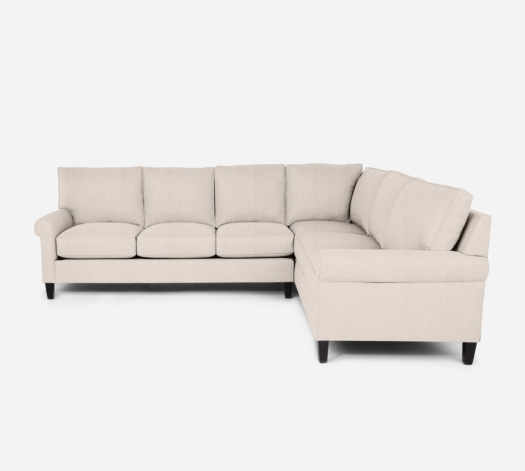 Soren LAF Large Corner Sectional - Kenley - Canvas