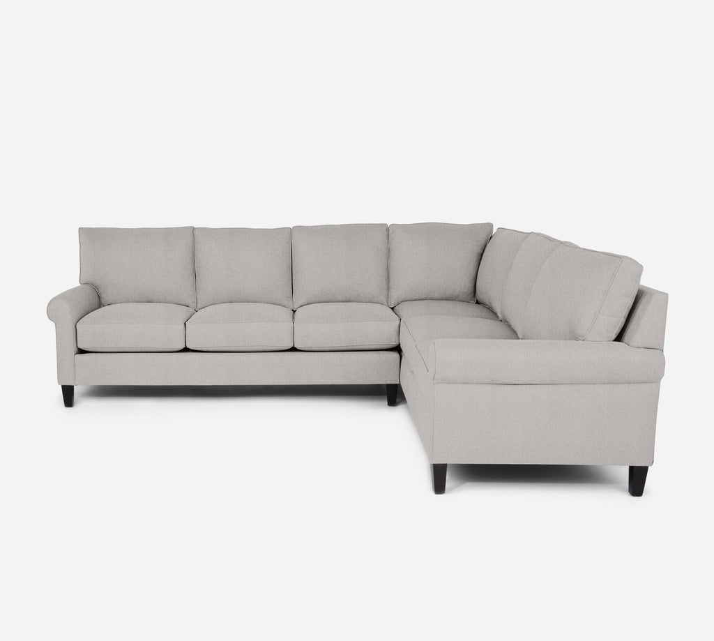Soren LAF Large Corner Sectional - Kenley - Moondust