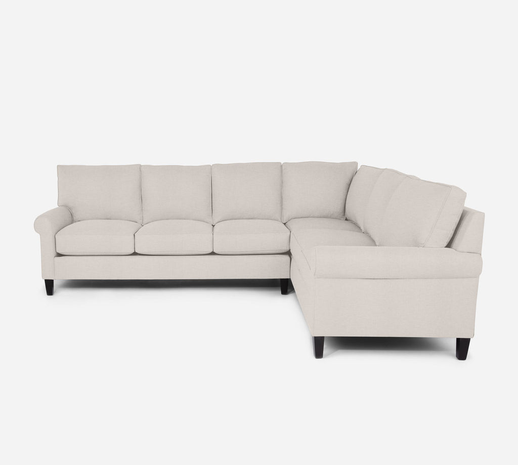 Soren LAF Large Corner Sectional - Key Largo - Oatmeal