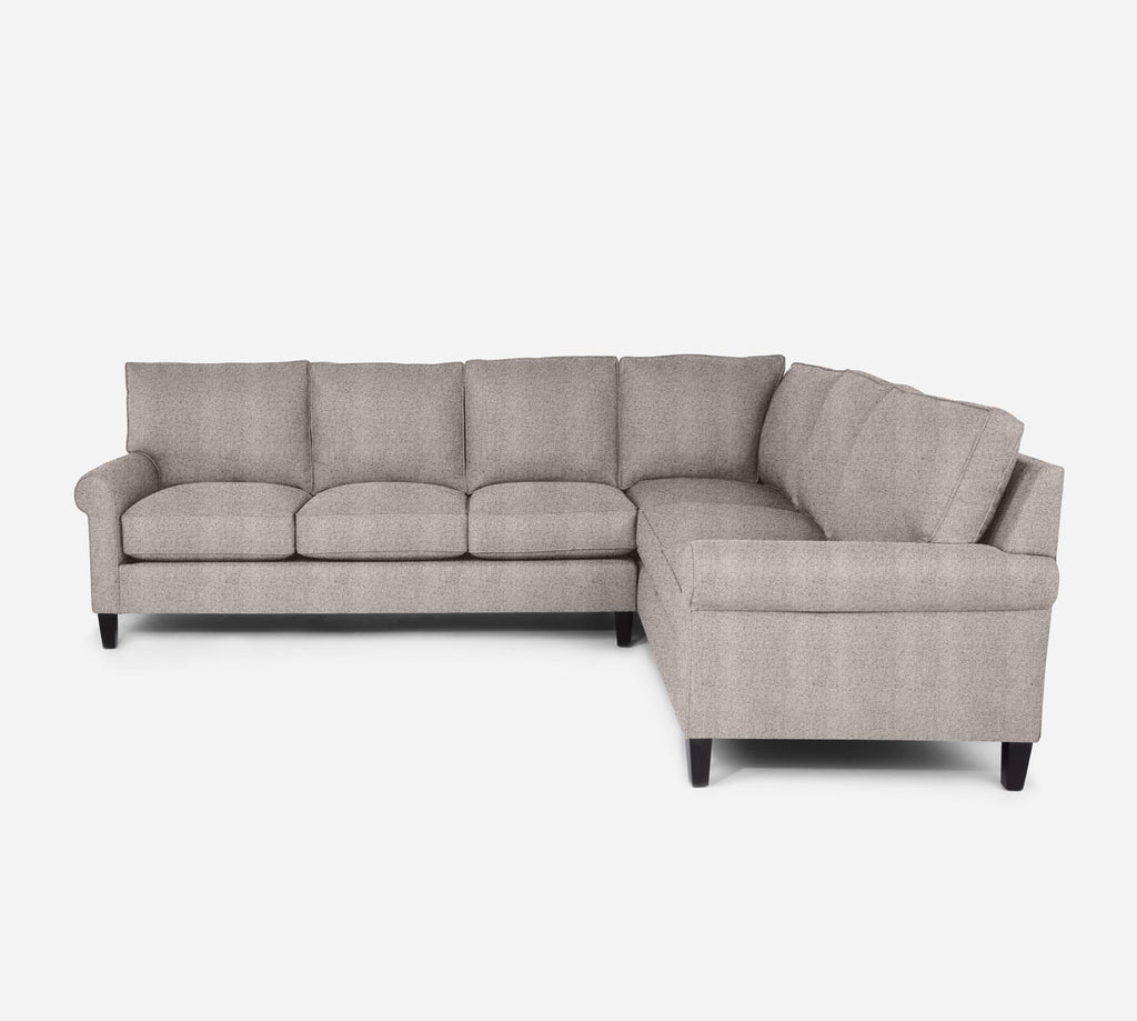 Soren LAF Large Corner Sectional - Theron - Oyster