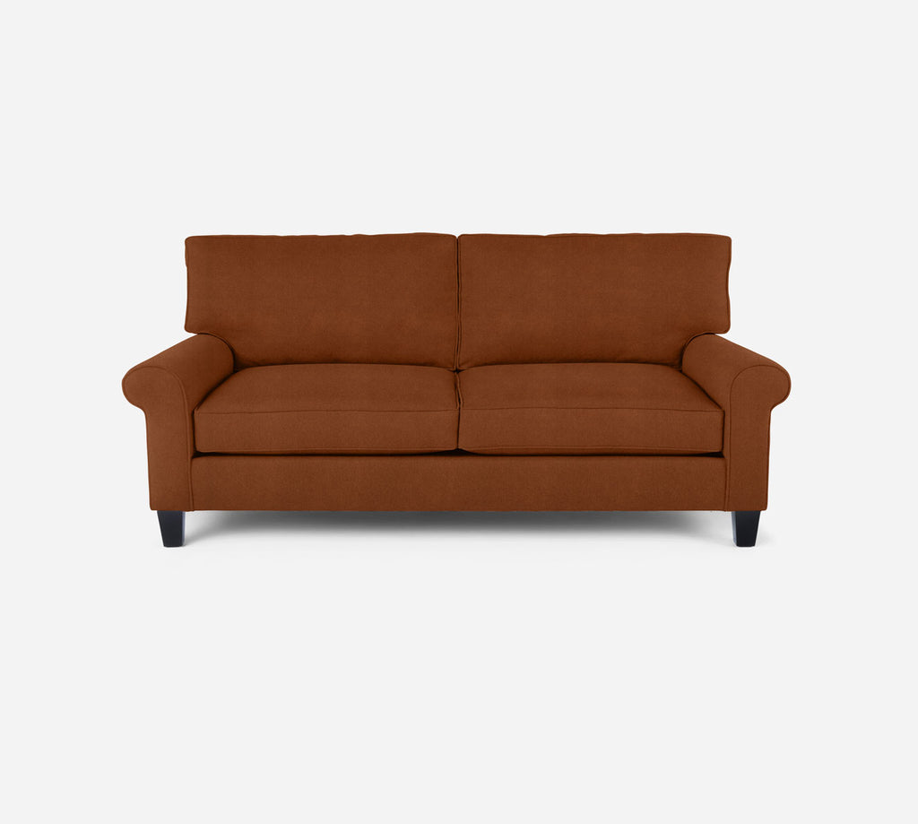 Soren Loveseat - Passion Suede - Rust