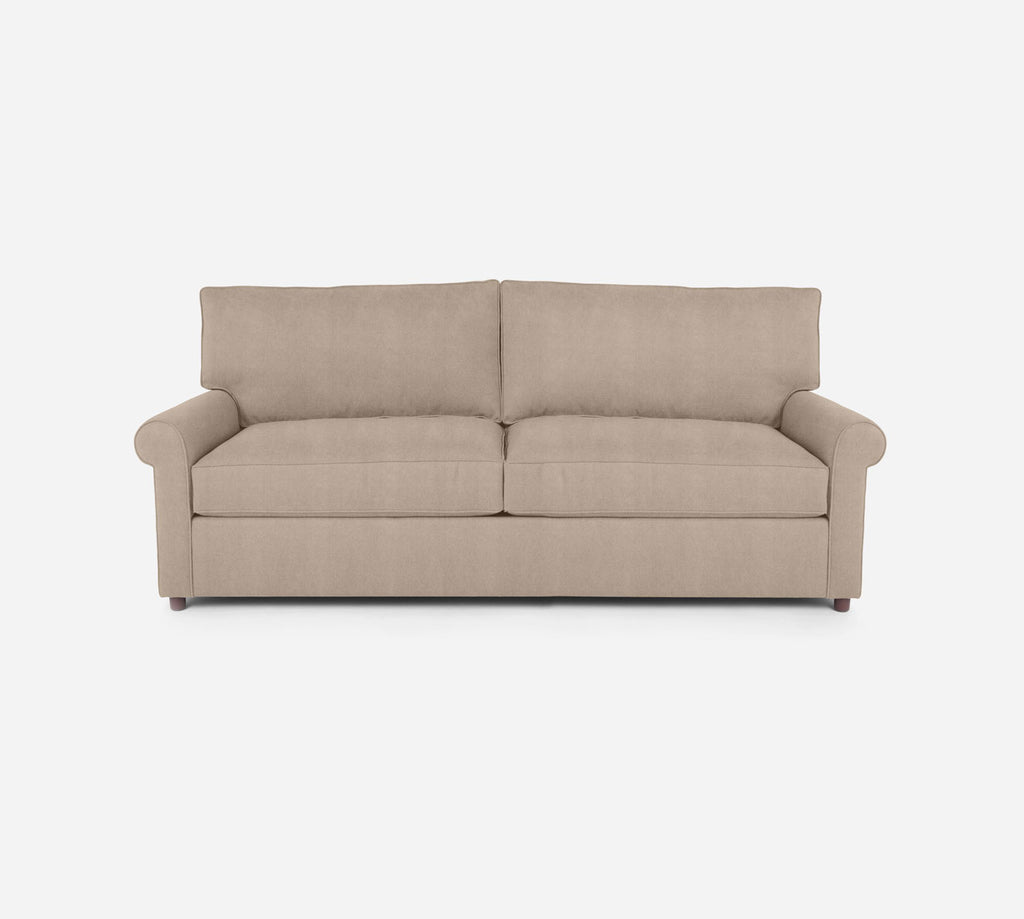 Soren 2 Seat Sleeper Sofa - Passion Suede - Camel