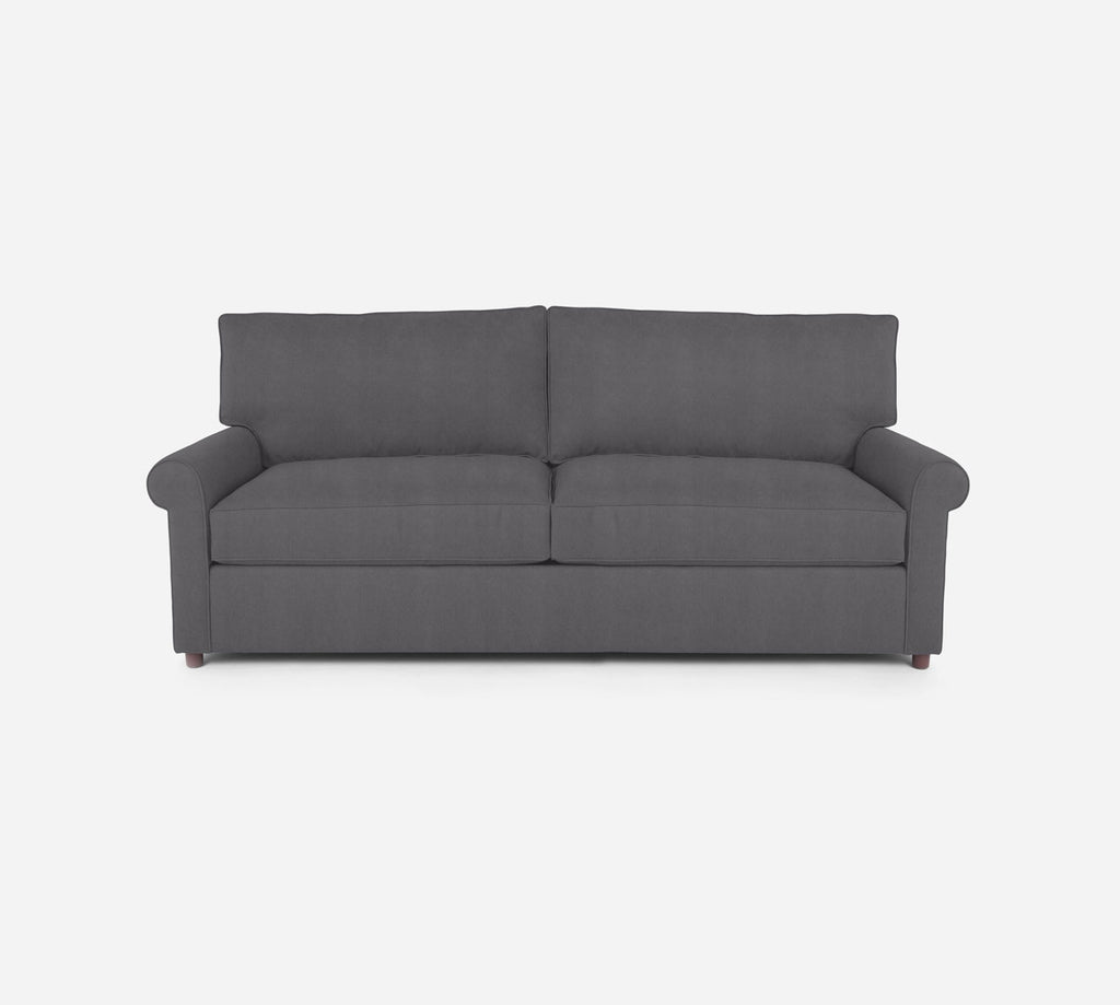 Soren 2 Seat Sleeper Sofa - Passion Suede - Charcoal