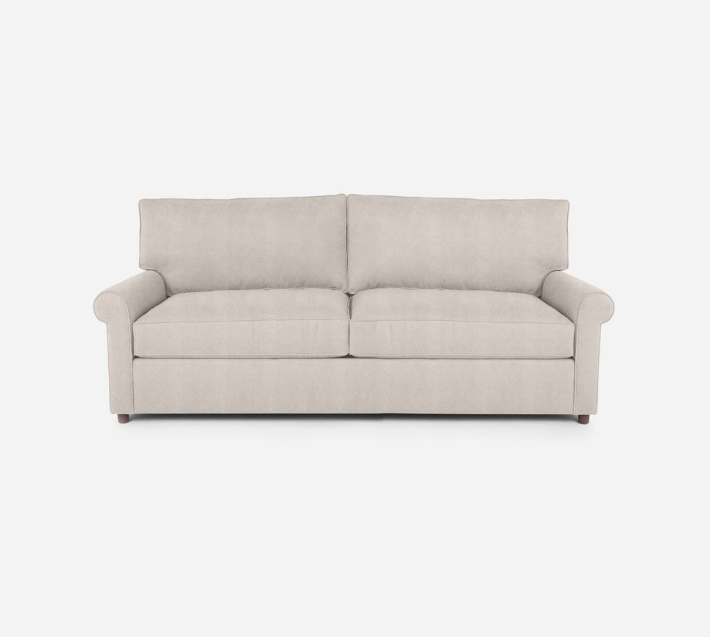 Soren 2 Seat Sleeper Sofa - Passion Suede - Oyster