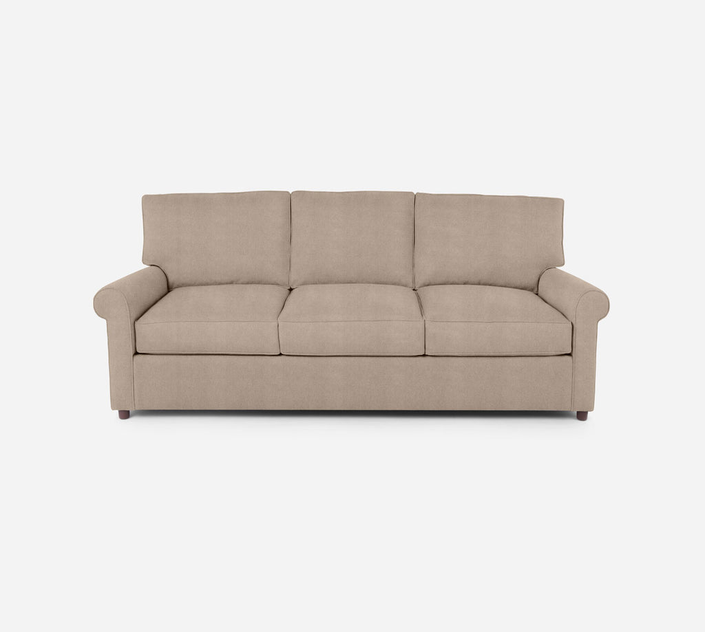 Soren 3 Seat Sleeper Sofa - Passion Suede - Camel
