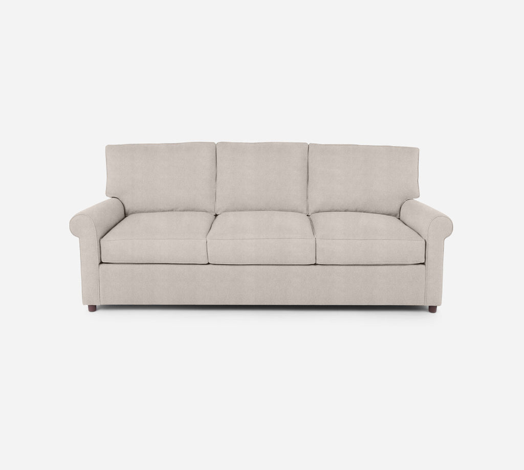 Soren 3 Seat Sleeper Sofa - Passion Suede - Oyster