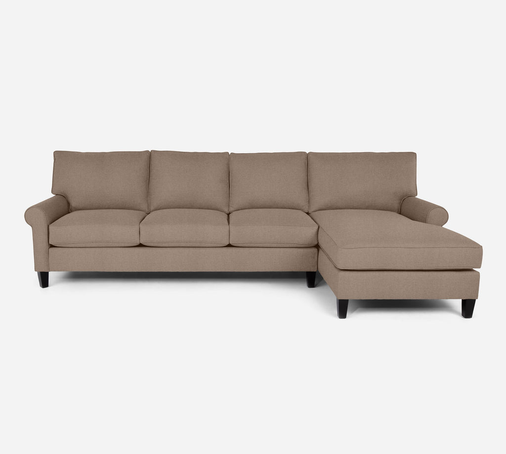 Soren RAF Chaise Sectional - Coastal - Cashew