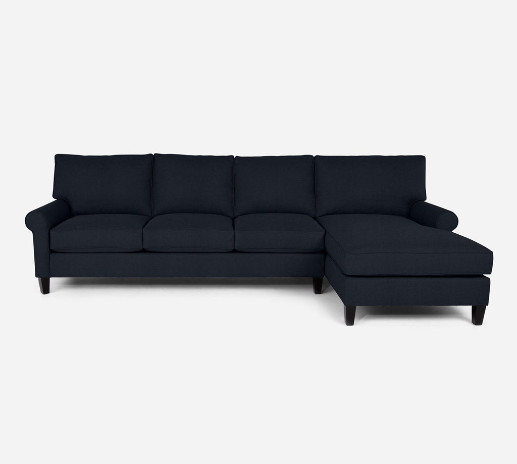 Soren RAF Chaise Sectional - Coastal - Sailor