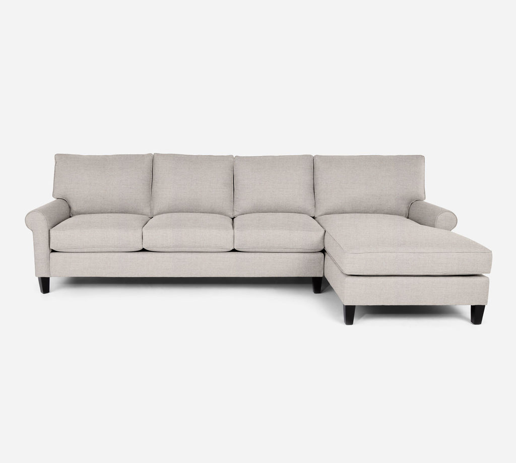Soren RAF Chaise Sectional - Coastal - Sand