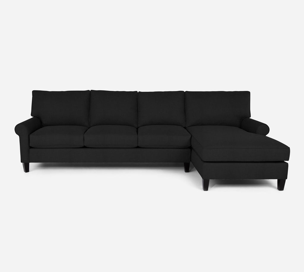 Soren RAF Chaise Sectional - Heritage - Charcal