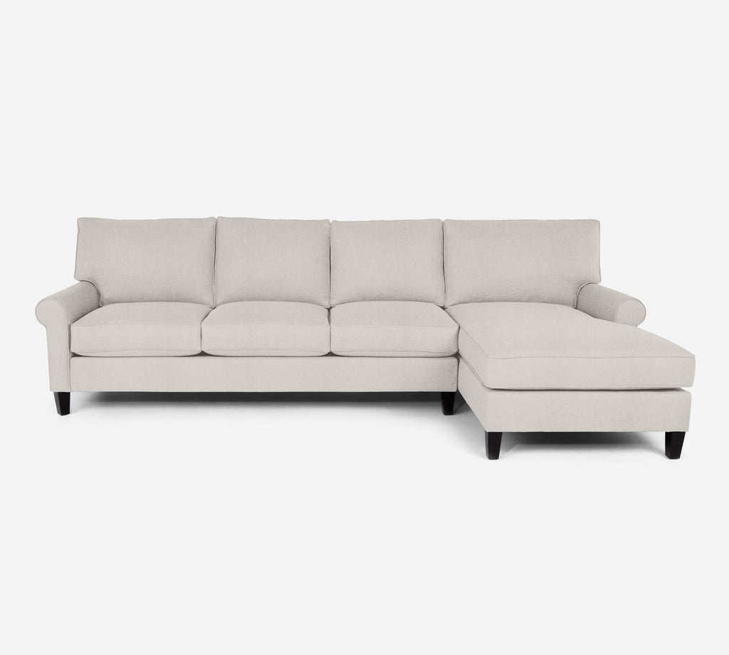 Soren RAF Chaise Sectional - Heritage - Ivory