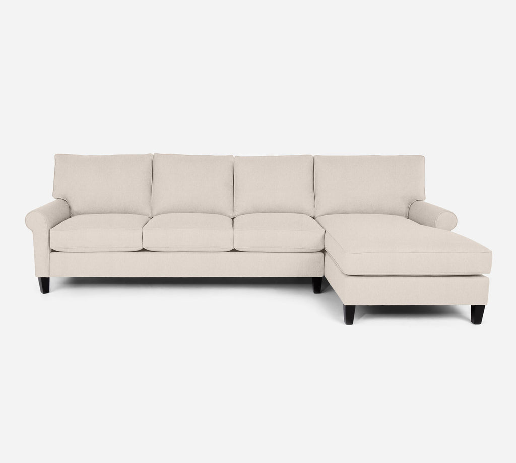 Soren RAF Chaise Sectional - Kenley - Canvas