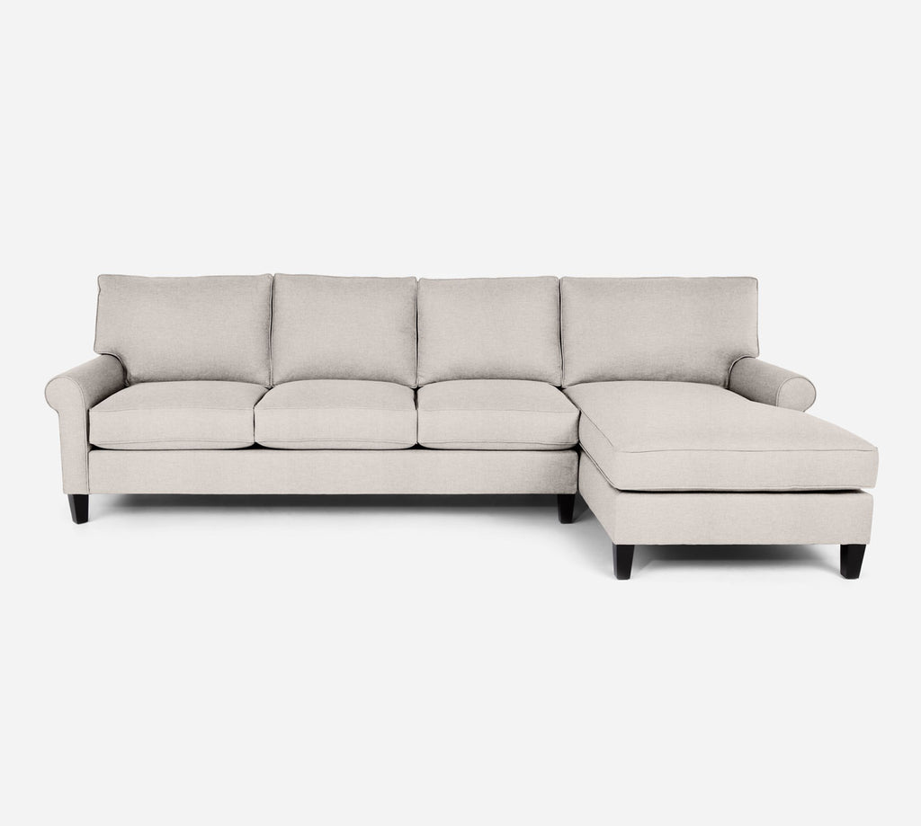 Soren RAF Chaise Sectional - Key Largo - Oatmeal