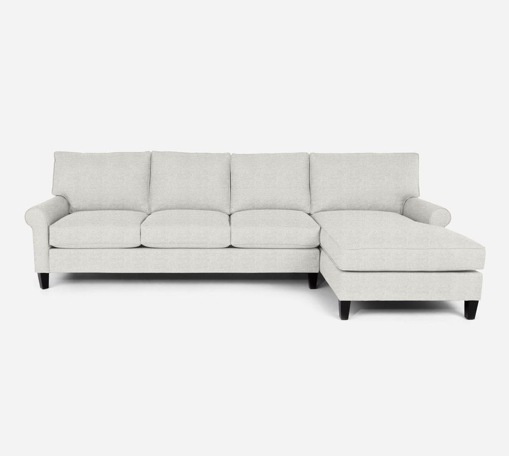 Soren RAF Chaise Sectional - Stardust - Ivory