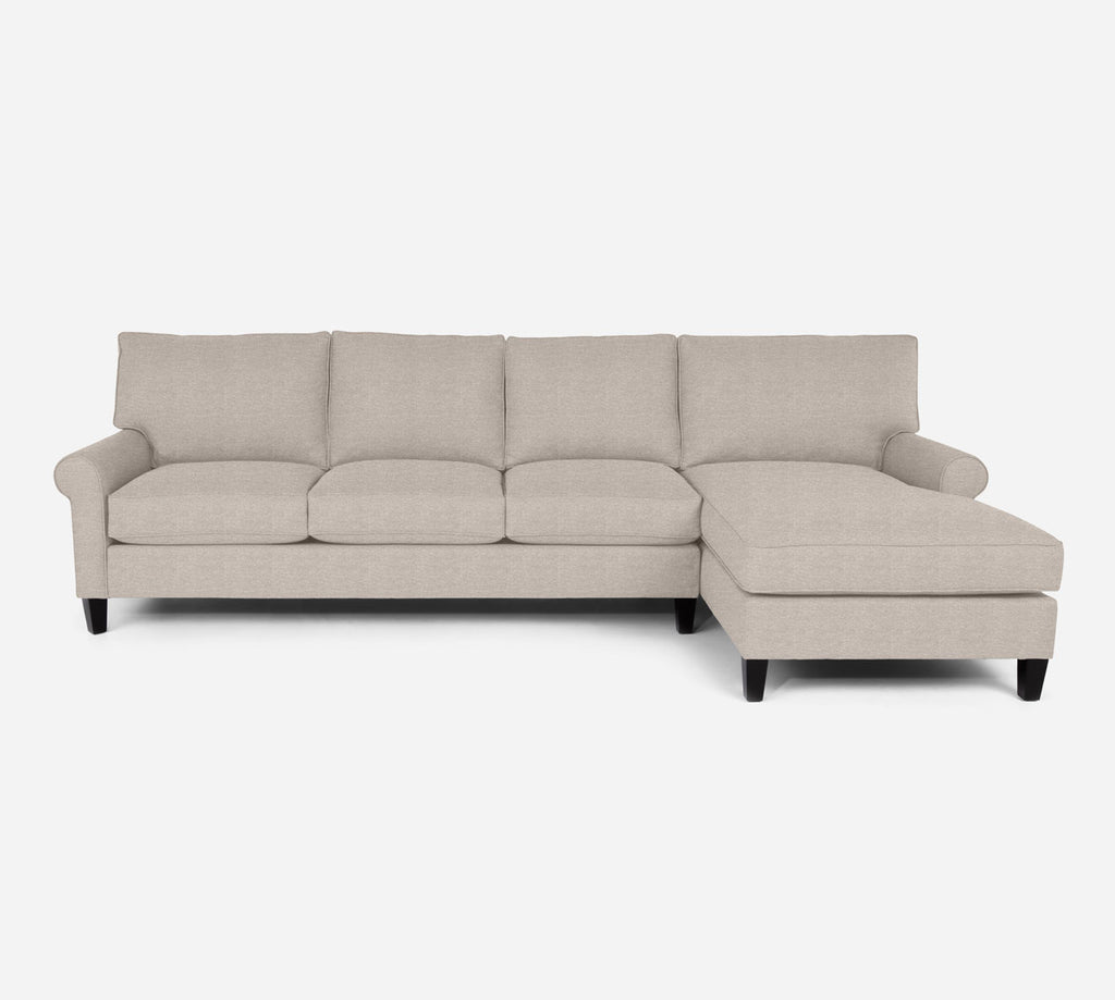 Soren RAF Chaise Sectional - Stardust - Oatmeal
