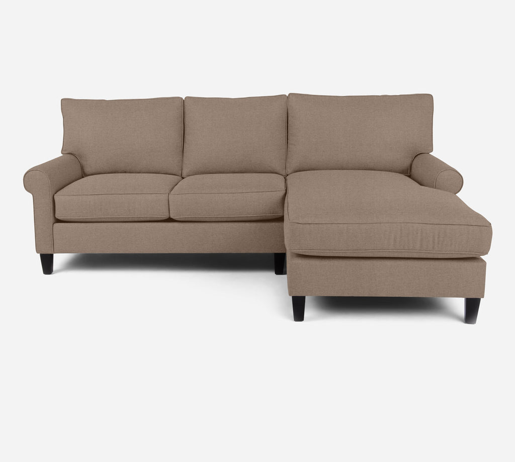 Soren Sectional Apartment Sofa w/ RAF Chaise - Coastal - Cashew