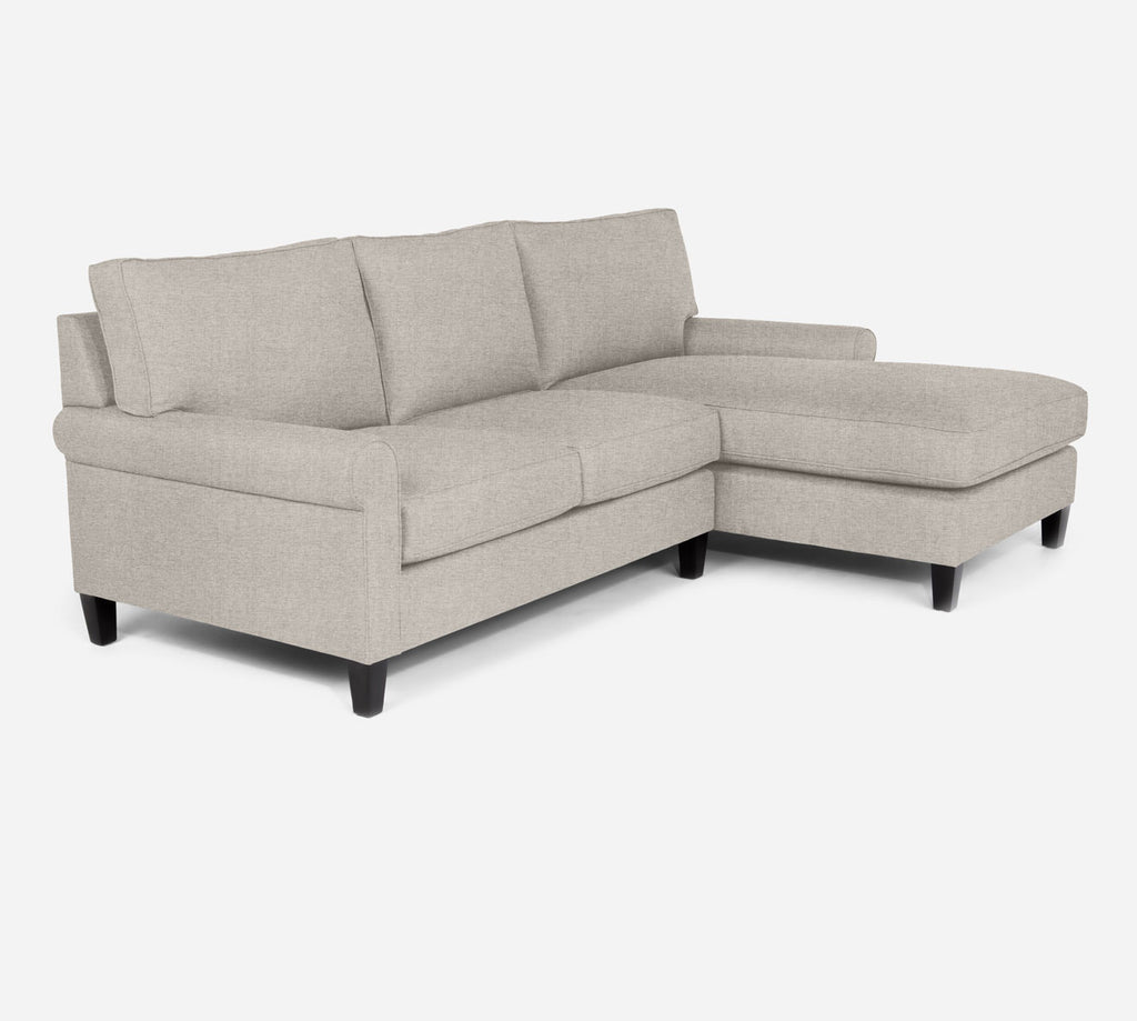 Soren Sectional Apartment Sofa w/ RAF Chaise - Coastal - Sand