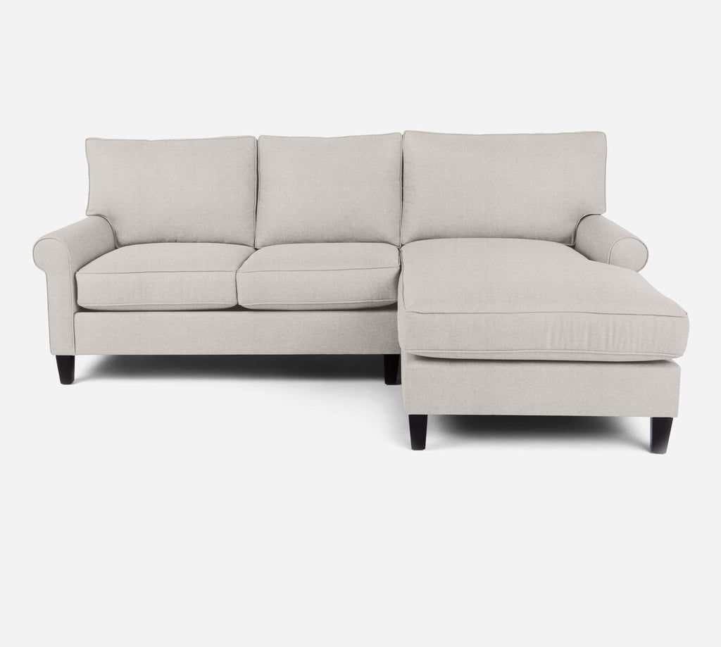 Soren Sectional Apartment Sofa w/ RAF Chaise - Heritage - Ivory