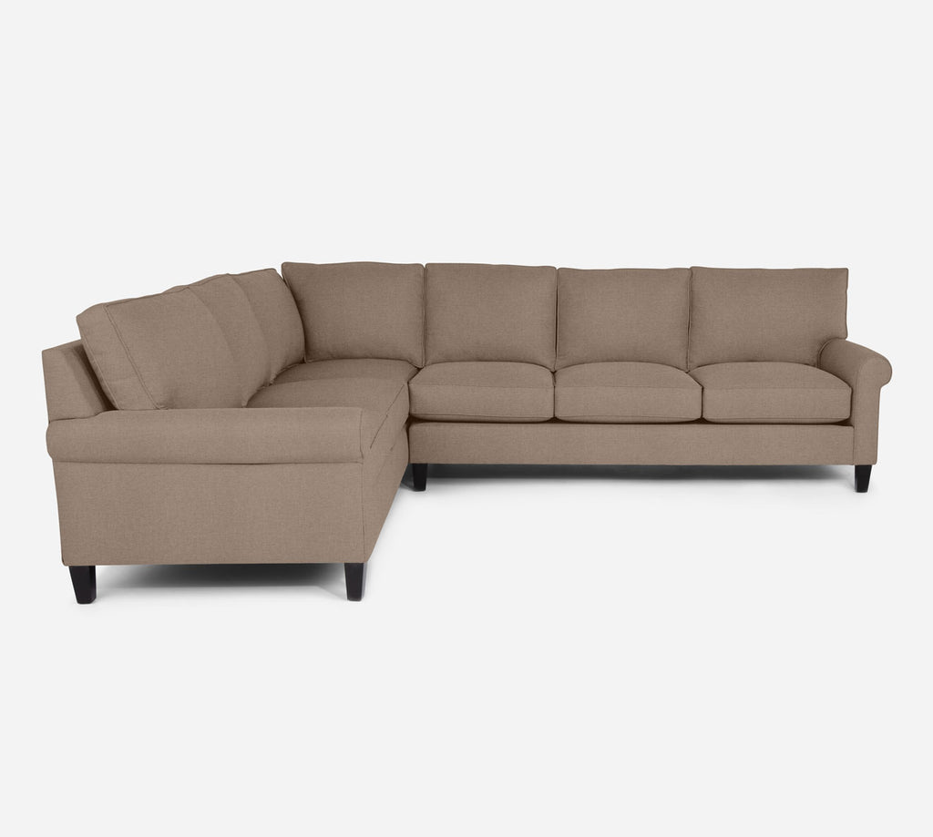 Soren RAF Large Corner Sectional - Coastal - Cashew
