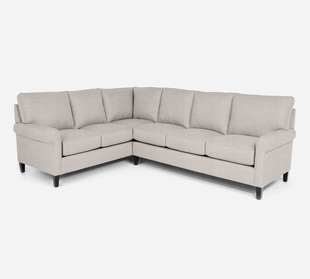 Soren RAF Large Corner Sectional - Coastal - Sand