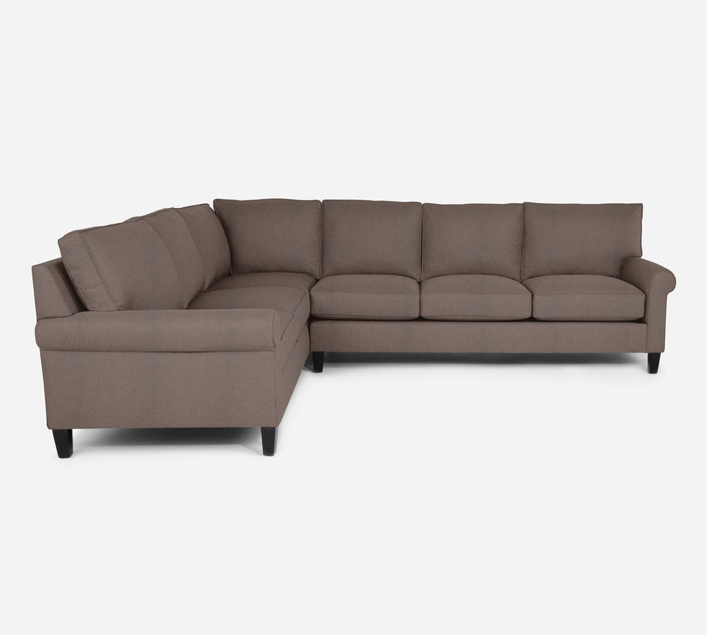 Soren RAF Large Corner Sectional - Heritage - Pebble