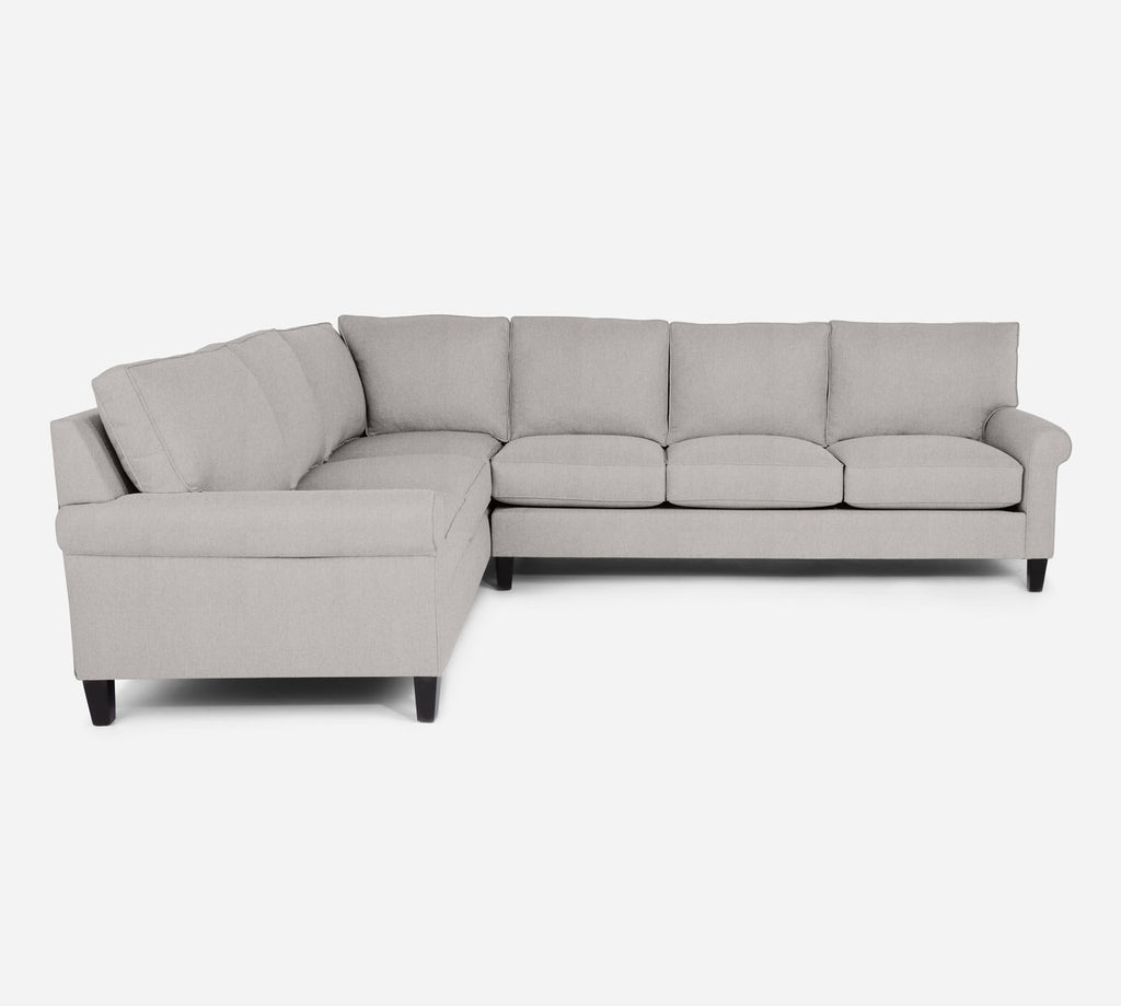 Soren RAF Large Corner Sectional - Kenley - Moondust