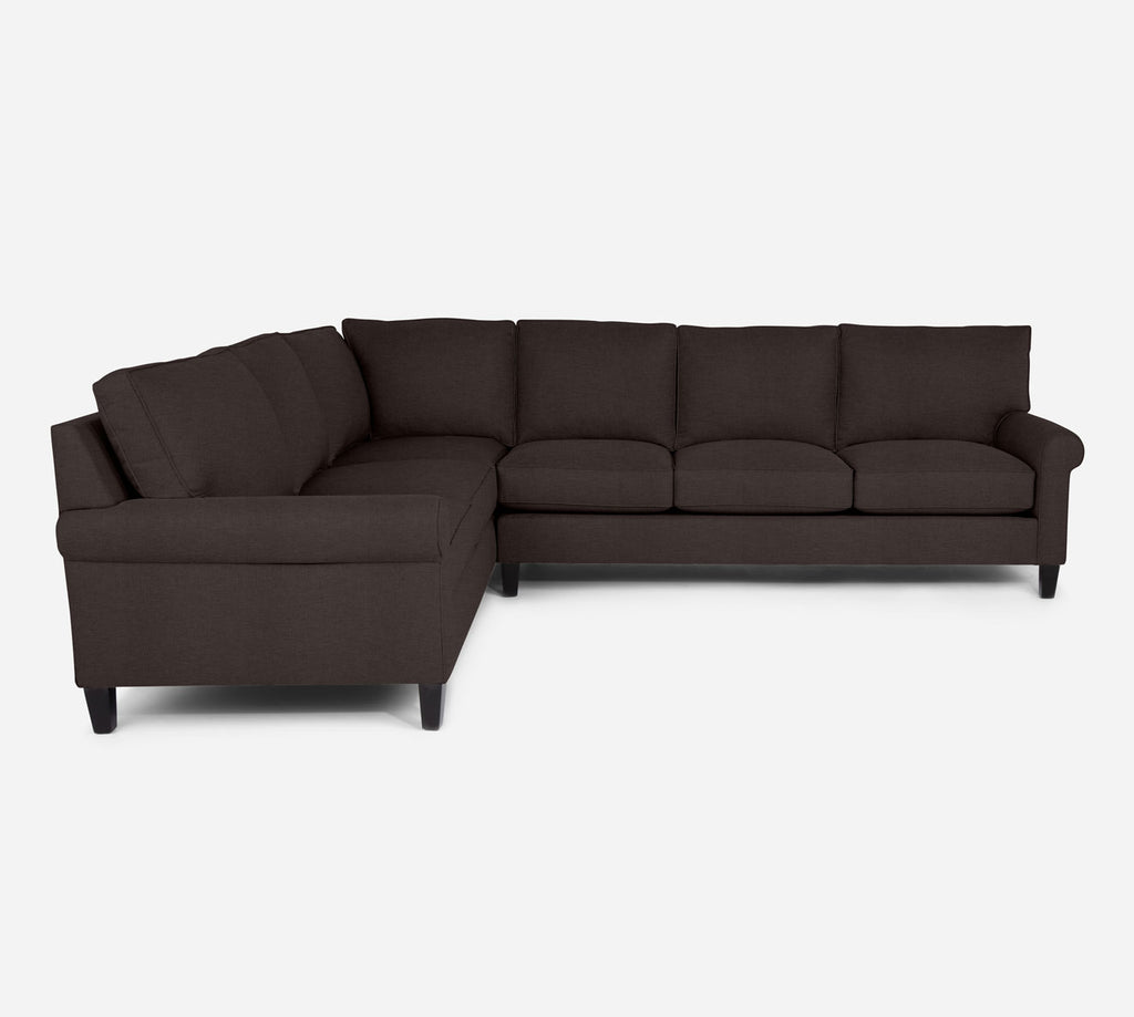 Soren RAF Large Corner Sectional - Key Largo - Mocha