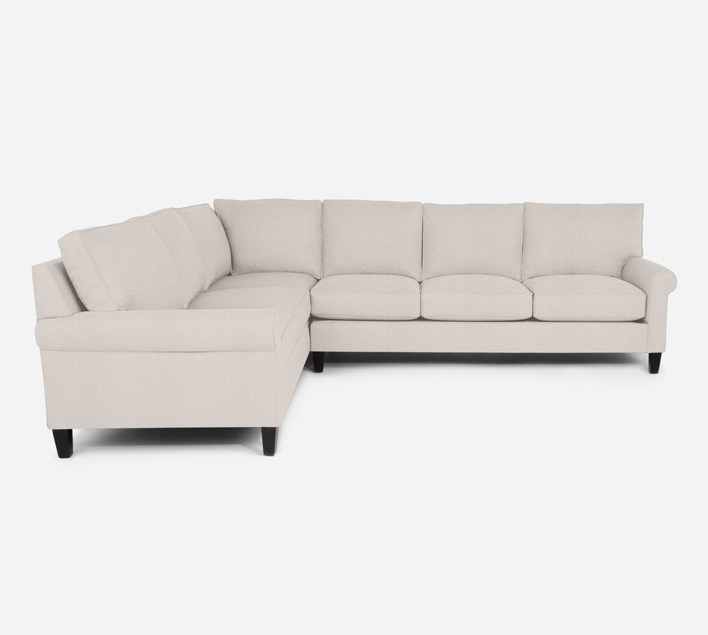 Soren RAF Large Corner Sectional - Key Largo - Oatmeal