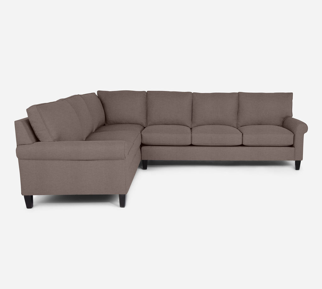 Soren RAF Large Corner Sectional - Key Largo - Pumice
